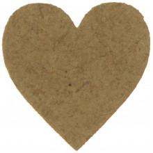 Серце 2х2 см МДФ (10)