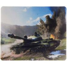"""Коврик тканевый прорезиненный """"World of tanks"""" 220х177х2мм"""