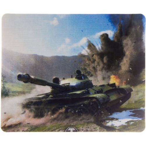 Коврик тканевый прорезиненный World of tanks 220х177х2мм