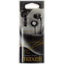 Наушники вакуумные Maxell drumsoundz inner ear bud black 303434