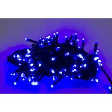 """Гирлянда электрическая """"String"""" Конус 200 LED синий, черный провод (100) №K-417/1220-02"""