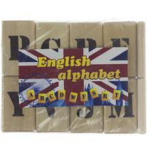 Игрушка деревянная Английская азбука