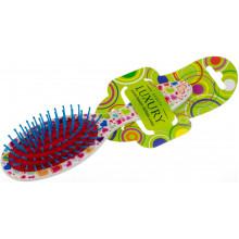Щетка массажная для волос Luxury цветная №HB-06-02