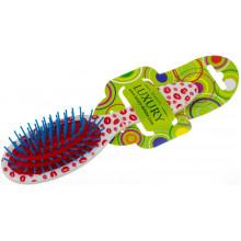 Щетка массажная для волос Luxury цветная №HB-06-03