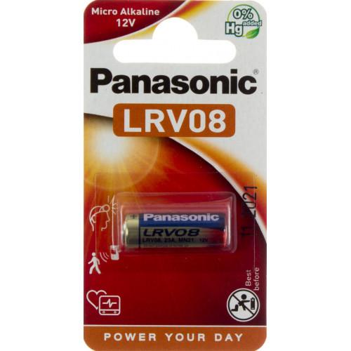 Батарейка Panasonic LRV08 (23A/MN21)/1 bl (10)