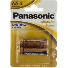 Батарейки Panasonic Alkaline Power LR-06/блістер 2 шт (12) (60)