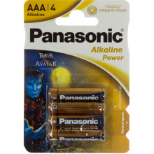 Батарейки Panasonic Alkaline Power LR-03 блістер 4 шт (12) (60)