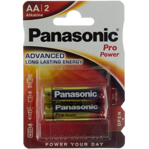 Батарейки Panasonic Pro Power LR-06 блистер 2 шт (12)