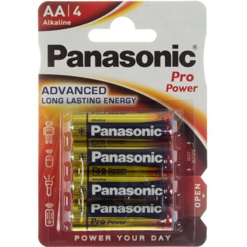 Батарейки Panasonic Pro Power LR-06 блистер 4 шт (12)