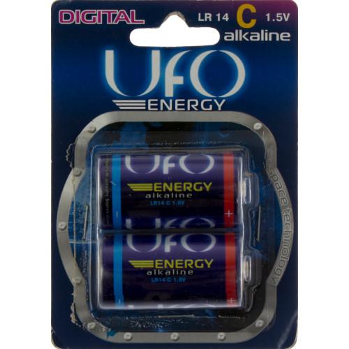 Батарейки UFO Energy LR-14/блістер 2 шт (6) (96)