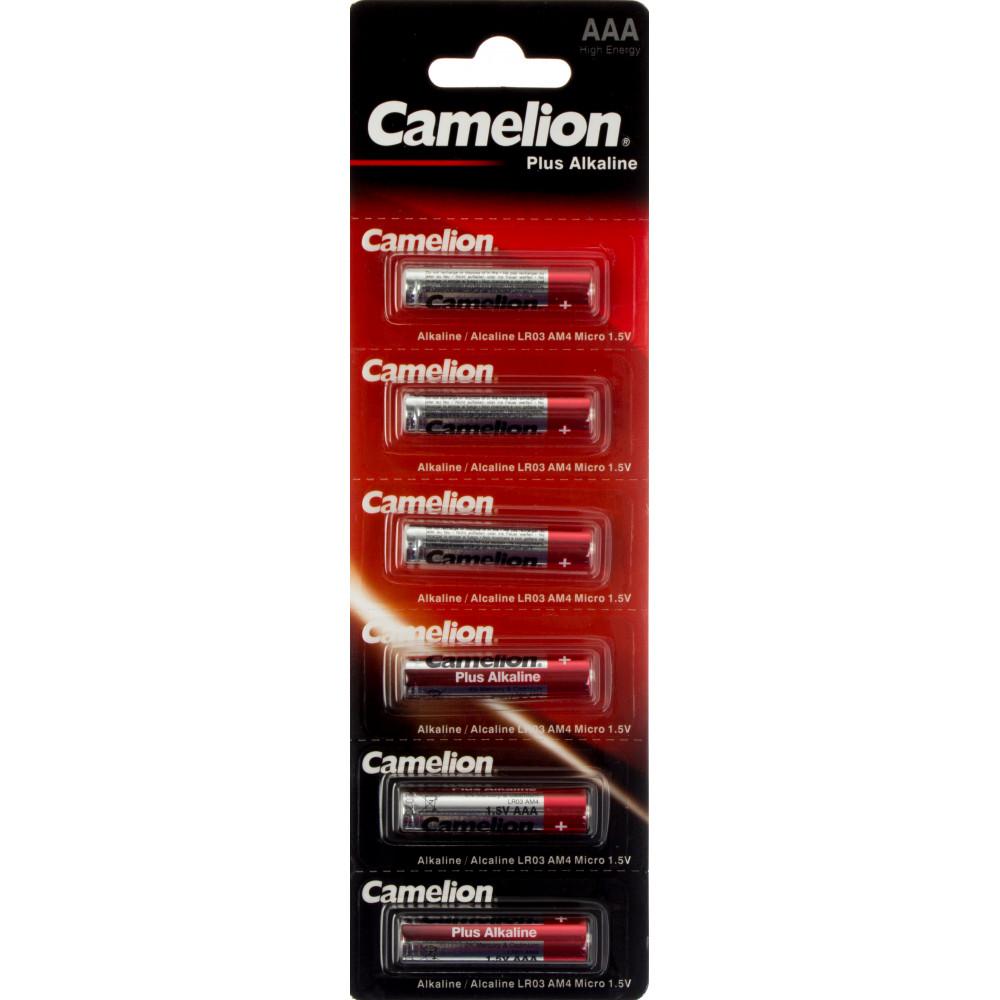Батарейки Camelion LR-03/блистер 6 штук (12) (96)