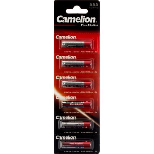 Батарейки Camelion LR-03/блістер 6 штук (12) (96)