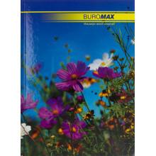 Книга-канцелярская А4 96 листов клетка Buromax офсет твердая обложка (8) 2400