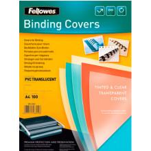 Обложки для брошюрования Fellowes А4 безцветные 200 мкм (100) (1000) №53761