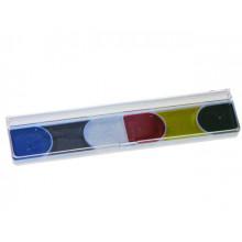 Акварель 6 цветов Конотоп пластиковая упаковка (45)(540)