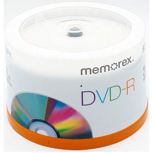 DVD-R 16х4.7Gb/120min Memorex prof штырь (50)