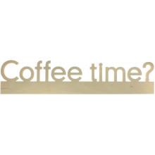 Напис дерев'яний Coffee time 1211