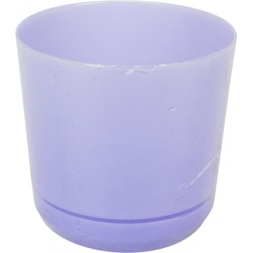 Горшок цветочный пластиковый d160мм-105, v-2,5 л сиреневый (10)