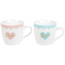 Чашка керамічна 350 мл Love Bonadi (6) (36) 432-002