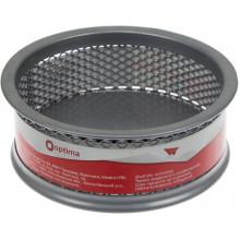 Підставка для скріпок Optima стакан круглий, металева, срібна (24) №O36303-10