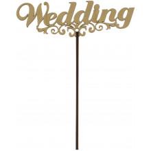 Топер Wedding 18х15 см фанера (5)
