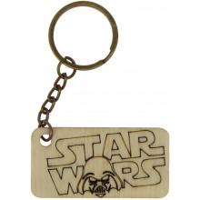 Брелок Star Wars 5х2,5 см фанера