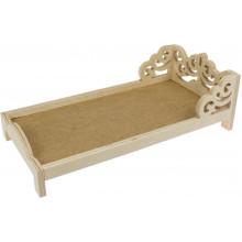 Ліжко дерев'яне 2405