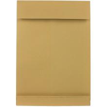 Конверт поштовий з розширенням В4 (0+0) крафт самосклеювальний 250х353мм (20) 391157