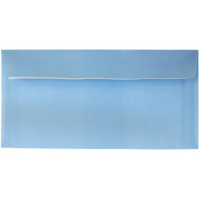 Конверт поштовий Е65/DL (0 + 0) самосклеювальний із силіконовою стрічкою блакитний 2240 пб (100)(500)