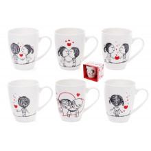 Чашка керамічна 350 мл в подарунковій коробці Bonadi (1) (36) 577-537