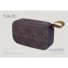 Колонка bluetooth Havit HV-SK578 BT gray №3630
