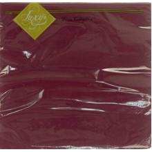 Серветки столові ТМ Luxy 3-шарові 20 шт. бордові