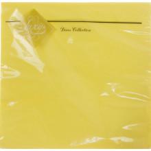 Серветки столові ТМ Luxy 3-х шарові 20 шт жовті (15)
