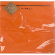 Серветки столові ТМ Luxy 3-х шарові 20 шт помаранчеві (15)