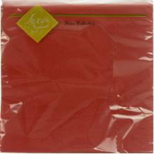 Серветки столові ТМ Luxy 3-х шарові 20 шт червоні (15) №3065