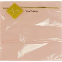 Серветки столові ТМ Luxy 3-х шарові 20 шт рожеві (15)