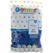 Кулька повітряна 26 см/10 синя (100) G90/09101
