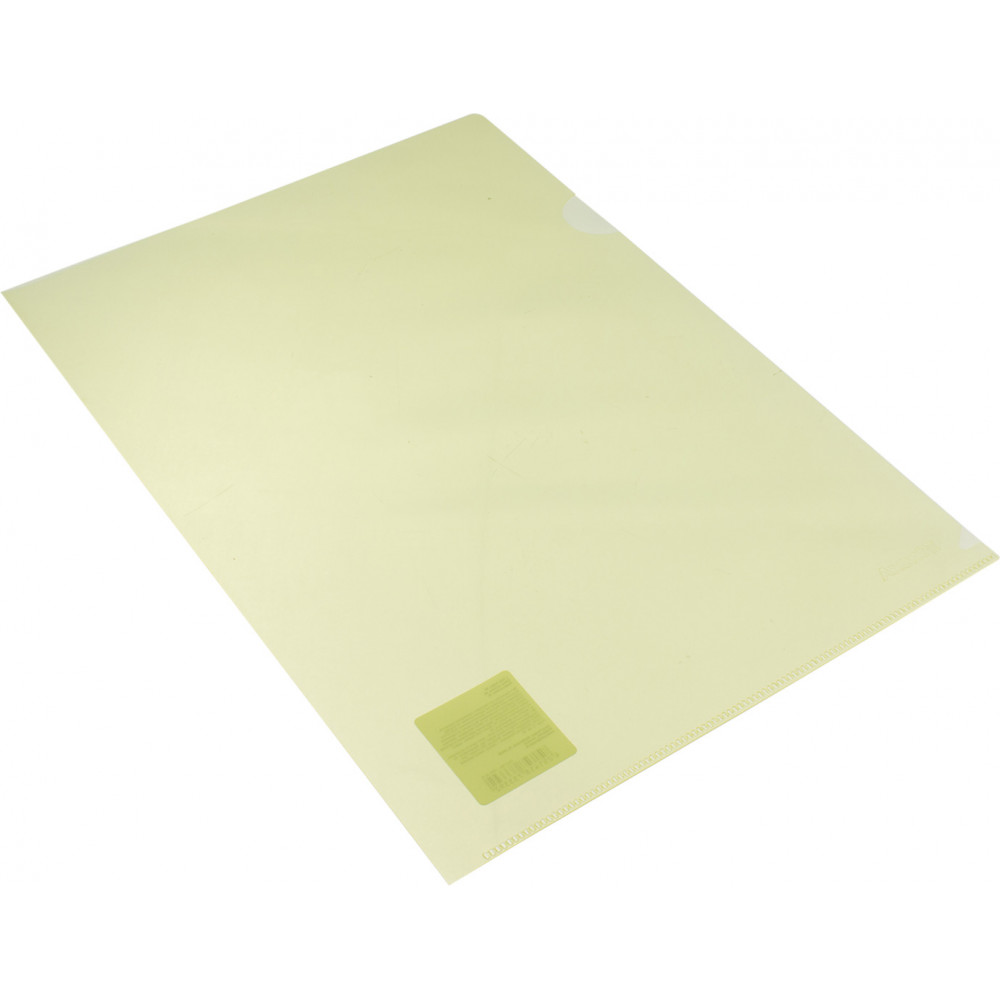 Папка-уголок Axent А4 желтая (10) №1434-26-А