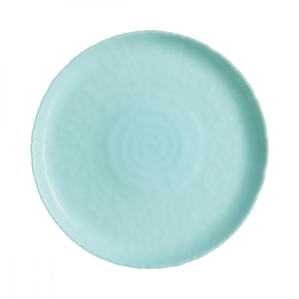 Тарелка десертная стекло  Luminarc.Ammonite Turquoise 19 см (6) (24) №09923 / P9921