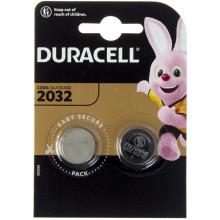 Батарейка Duracell CR2032 / 2bl (2) l (20)
