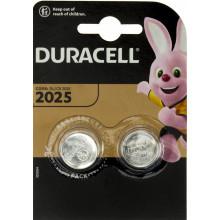 Батарейка Duracell Алкалайн DL2025/CR2025 2b (2) (20)