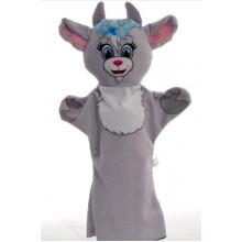 М'яка іграшка Рукавичка Коза 00626-1