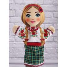 М'яка іграшка Рукавичка Українка 00633-10