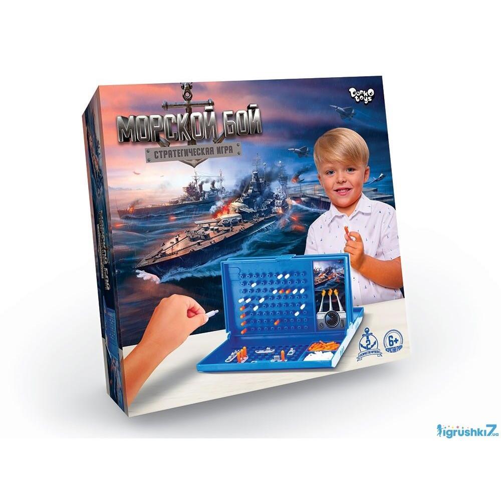 Игра Морской бой (10) DankoToys №G-MB-01U