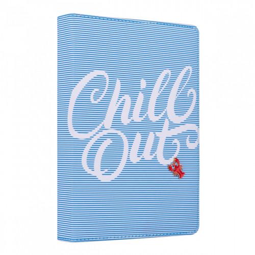 Щоденник A5 Yes недатований 432 сторінки Chill out блакитний №252045
