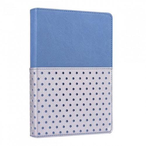 Щоденник A5 Yes недатований 432 сторінки Salsa сталевий синій №252054