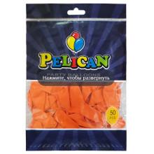 Шарик воздушный Pelican 10/26см пастель оранжевая (50) 1050-811