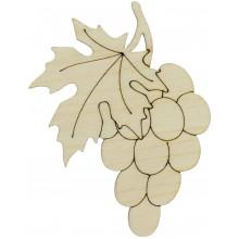 Гроно винограду 10х8см фанера (5)