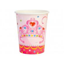Набір стаканів паперових Princess 6 шт 270 мл (24) (144) №MX440127