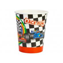Набір стаканів паперових Racing 6 шт 270 мл (24) (144) №MX44073